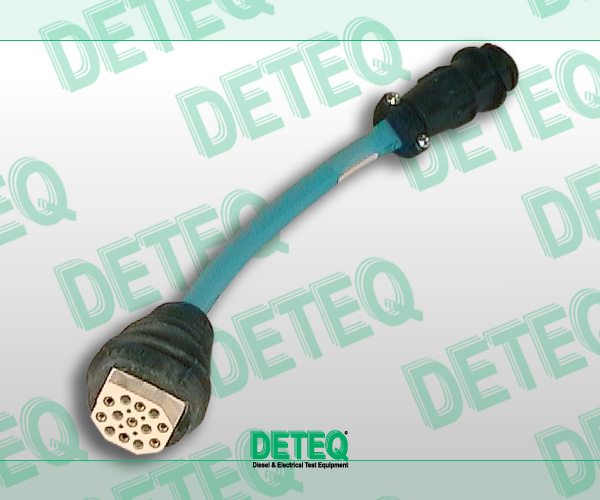 Adapter cable for Bosch Ve pumps on Mercedes  Similar to Bosch 0 986 612 698.