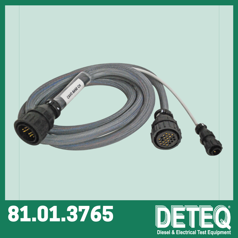 Basic cable (2mt length) for all-makes common rail pumps.