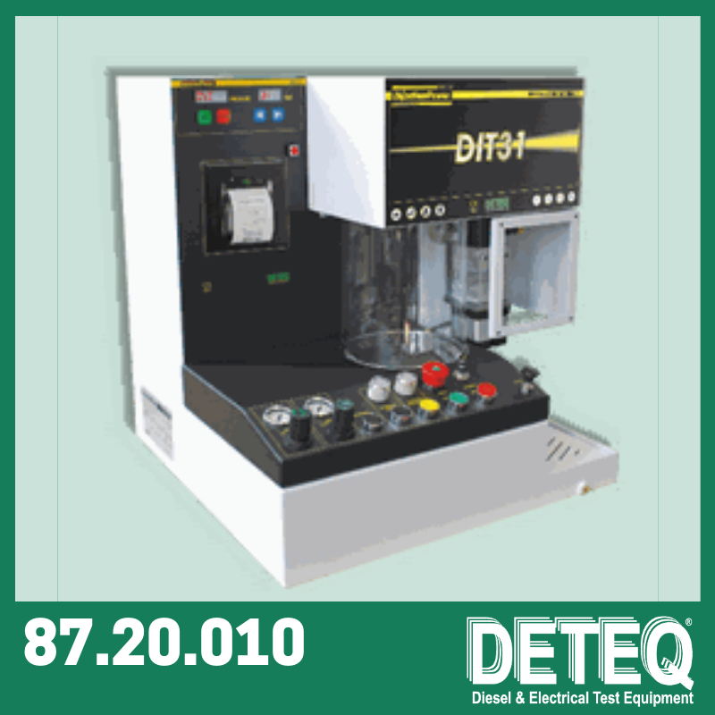 DIT31 - Test bench for diesel injectors.
