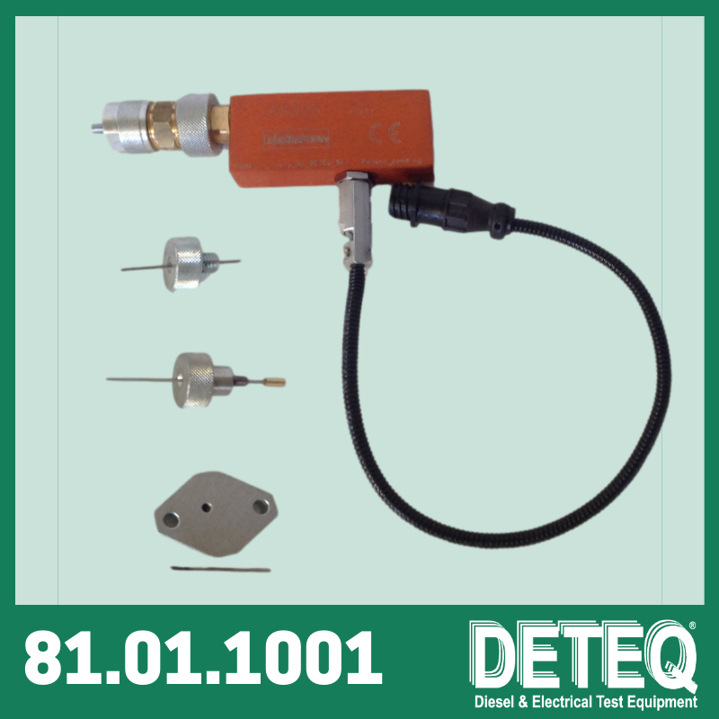 AS25 electronic sensor to measure the travel of the timing-device piston on diesel pumps.
